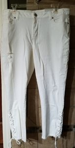 Maurices white jeans